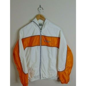 Vintage Nike M Windbreaker Jacket Big Swoosh Spell